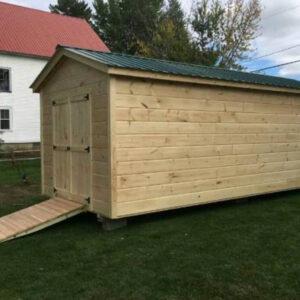 10x30 Maine Wood Shed