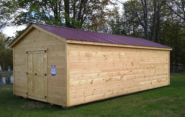 14x30 Wood Shed made in Maine