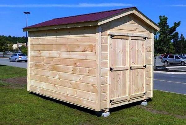 8x10 Maine Wood Shed