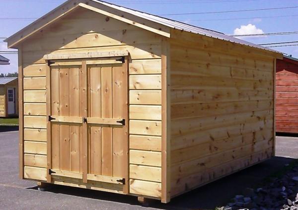 14x30 Wood Storage Shed