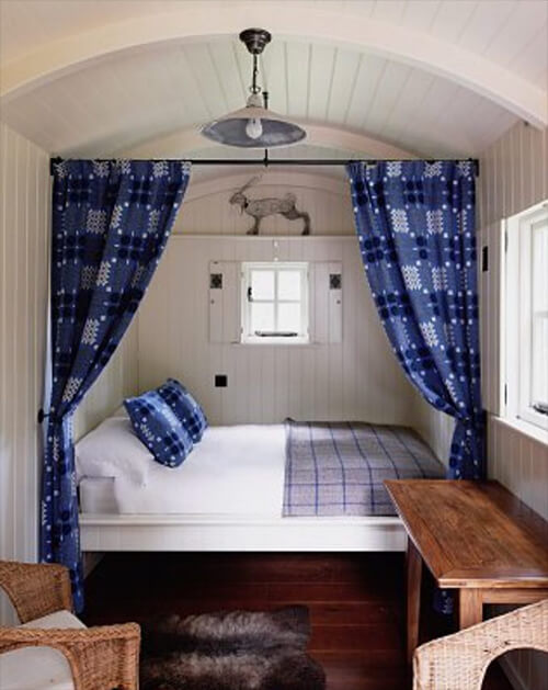 Maine Glamping Camping Bed