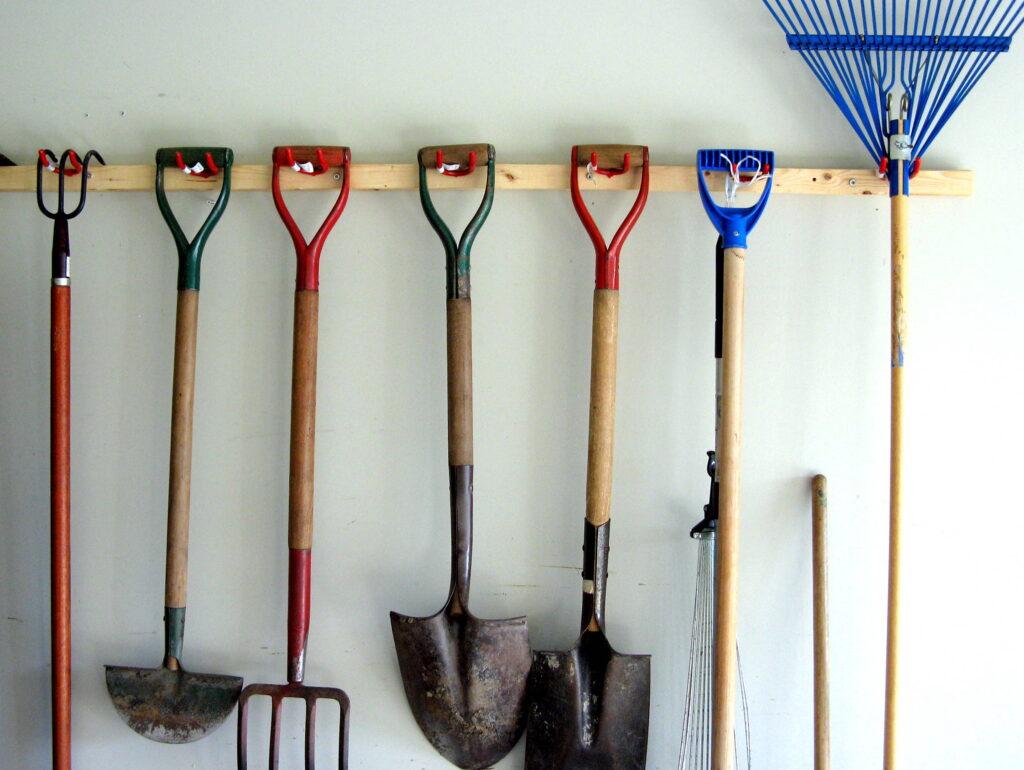 Gardening Tool Storage