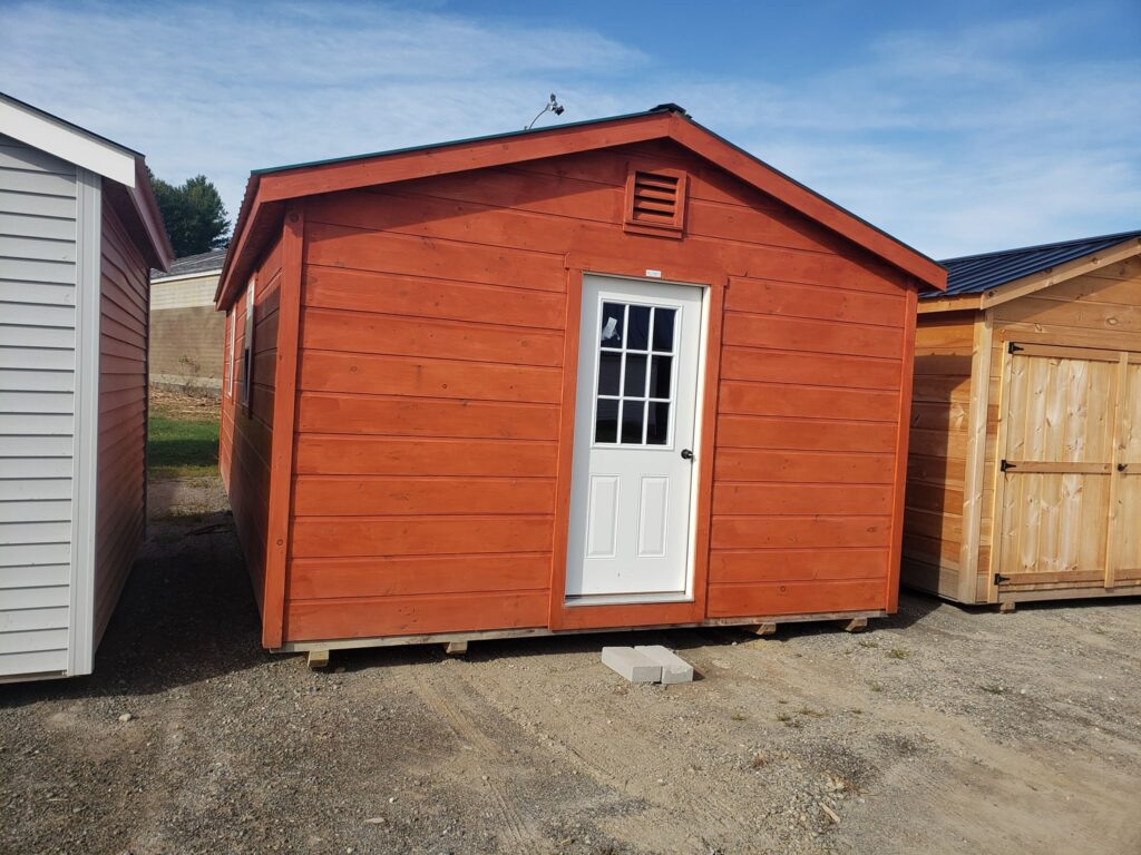 Complete Stained Shed