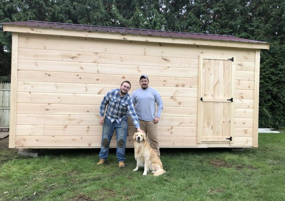 Here's Why Customers Prefer Our Storage Shed Company