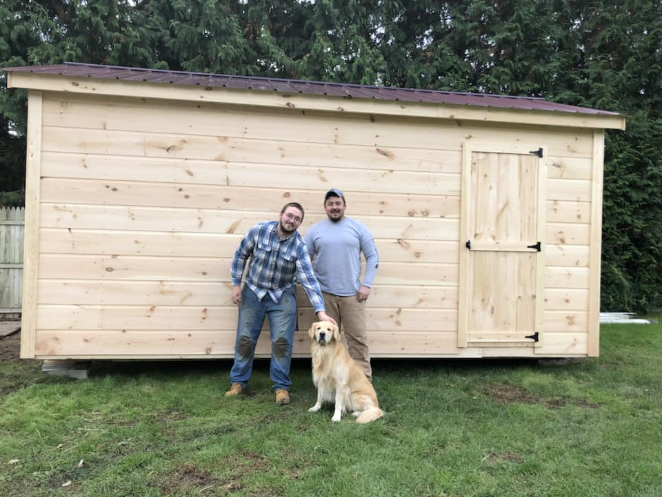 Another happy shed customer!