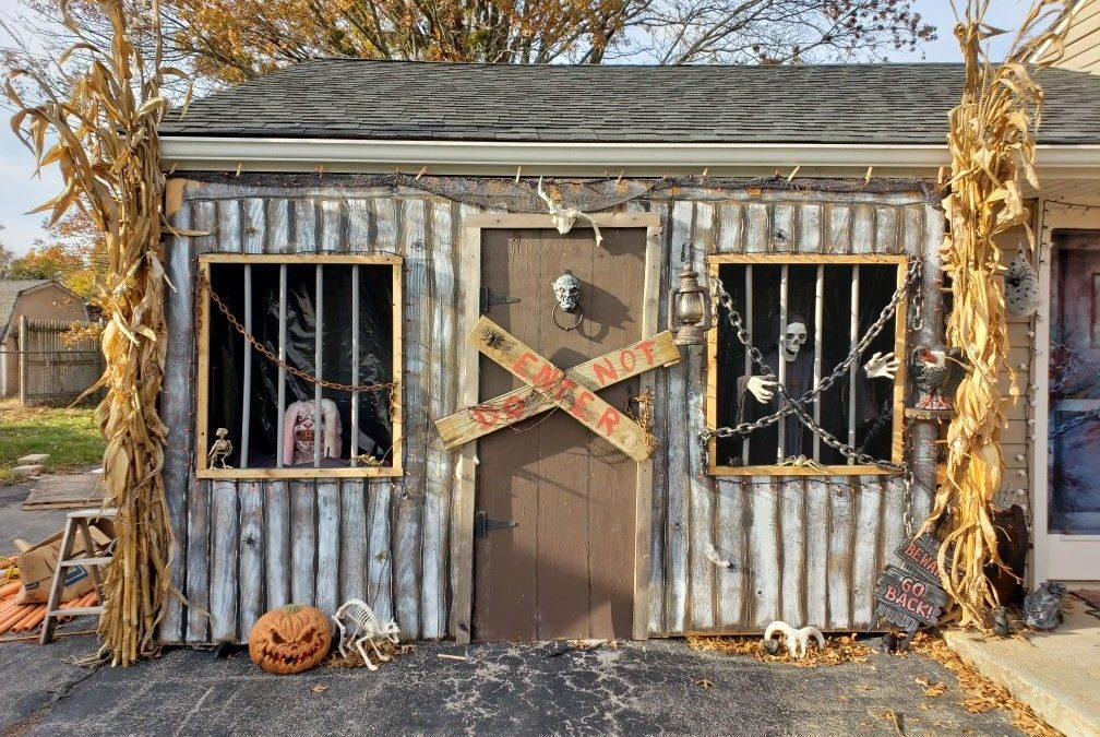 Step up Your Halloween Game Part 2: Haunted Backyard Shed
