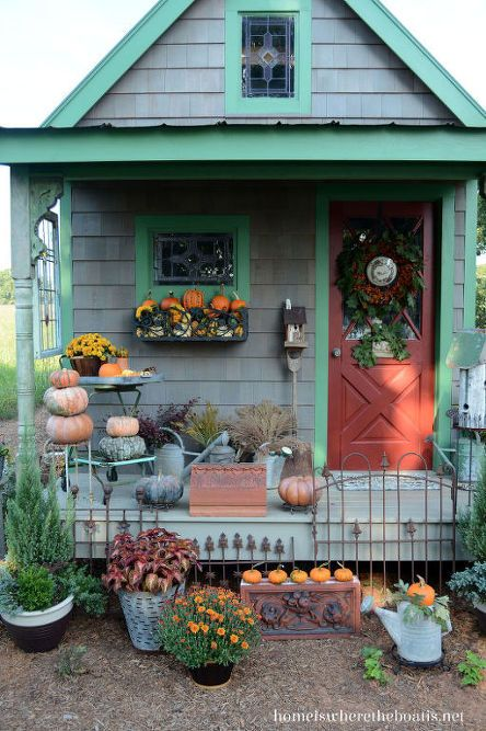 Install Window Boxes on a Shed