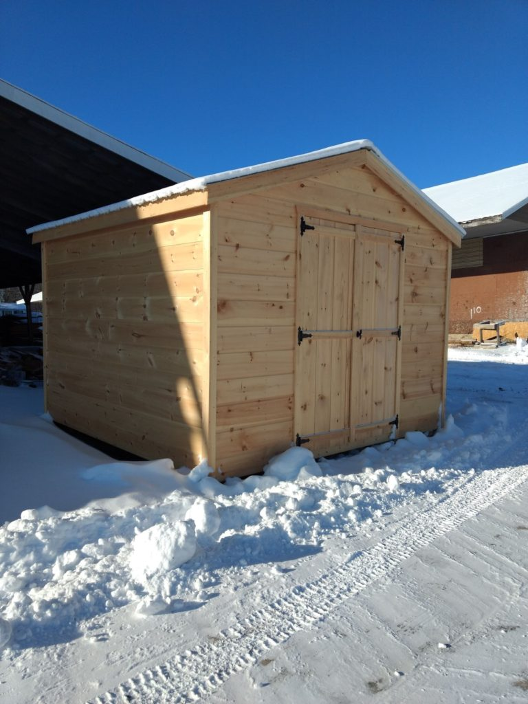 Winter Storage Shed
