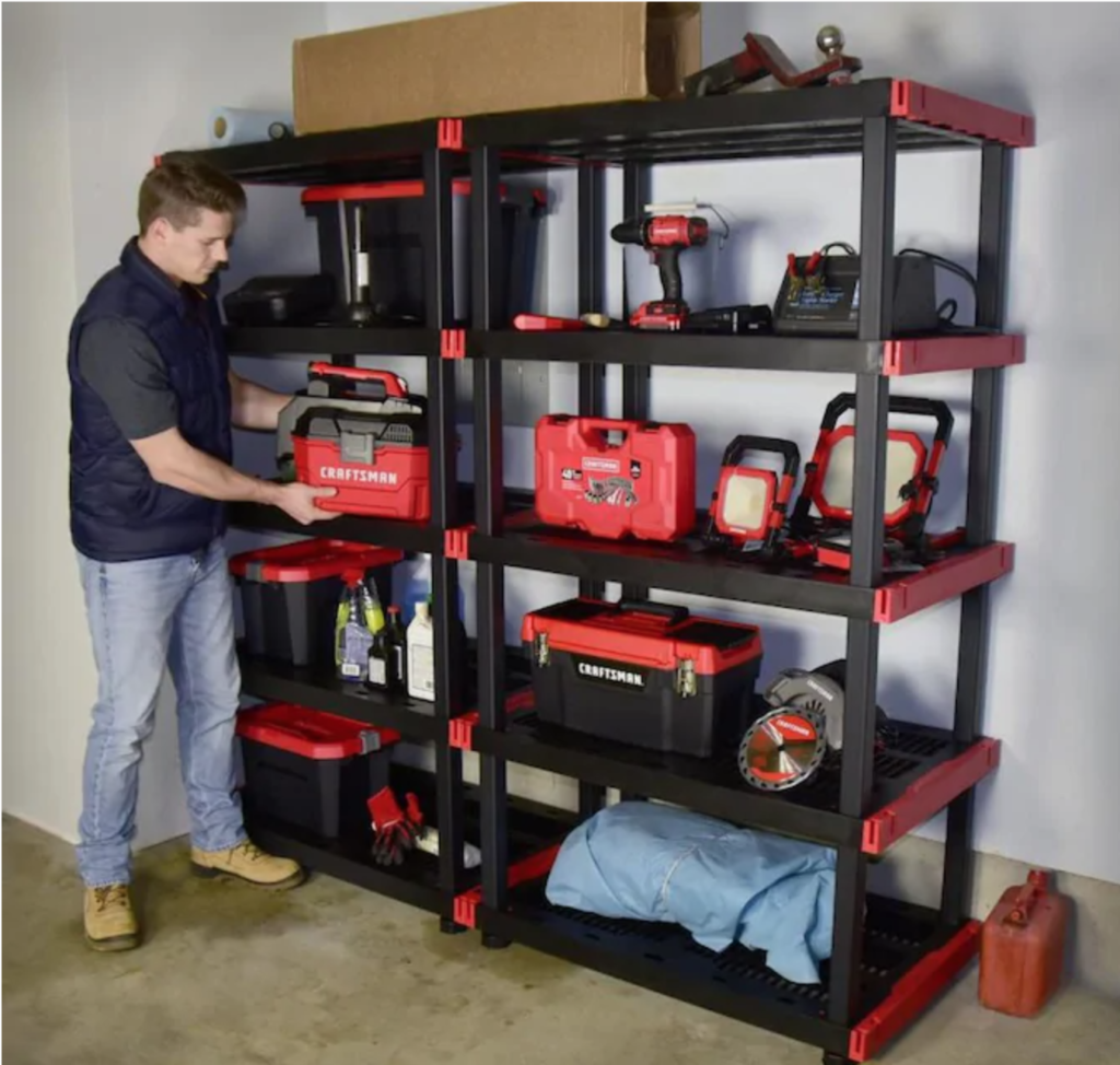 Garage Shelving Organization