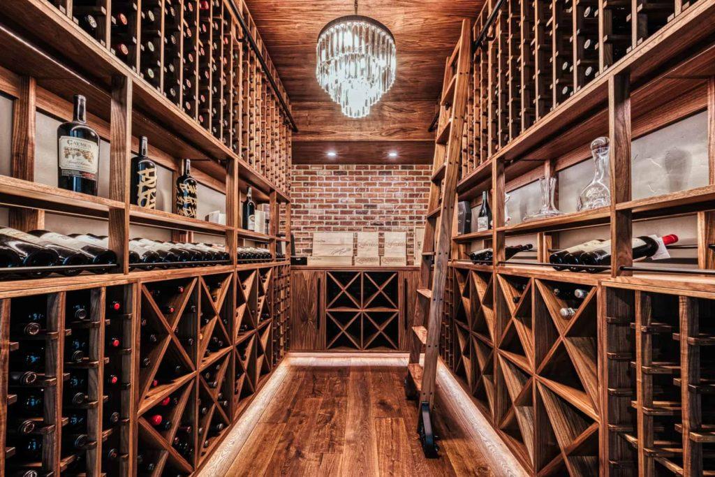 Wine cellar shed